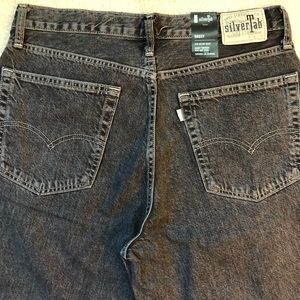 $79.50 NEW LEVI'S SILVERTAB Mens Baggy Jeans Embarcadero Black//Gray 392900002